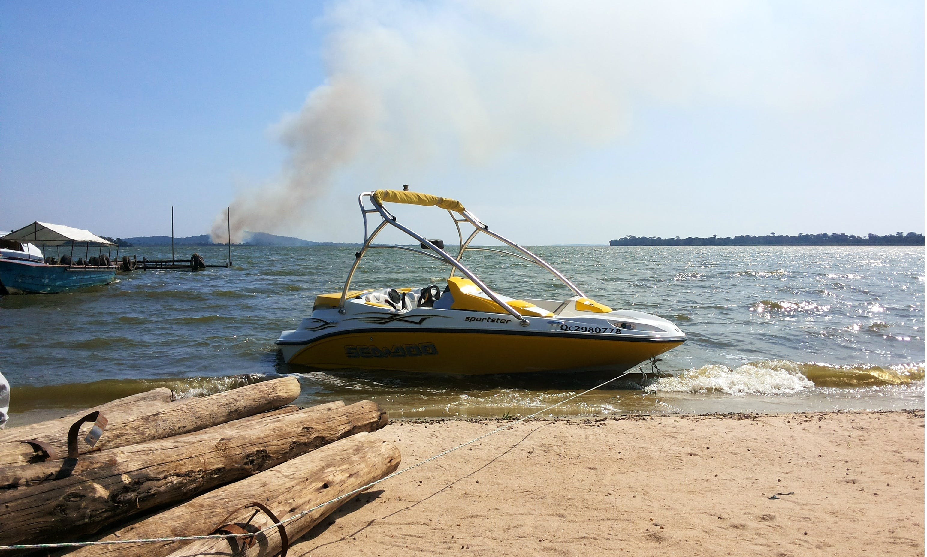 Power jet boat rental in Kampala