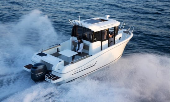 Rent A Merry Fisher 695 Power Boat In La Rochelle, France (license Required)