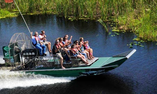 Airboat Charter In Vero Beach Florida