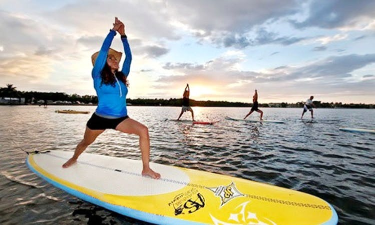 SUP Yoga in Wareham