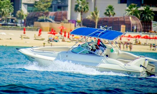 Small Power Boat For Rent In Dubai For 6 Friends