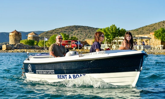 Rent This Boat For Up To 6 People For €85 An Hour In Lasithi, Greece