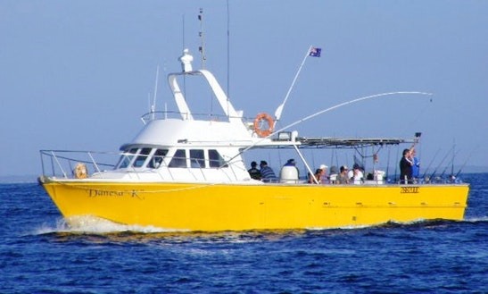 Enjoy Fishing In Queensland, Australia On 40' Trawler