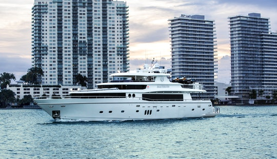 Miami Yacht Charters - 104' Johnson - Miami, Florida Keys, The Bahamas!