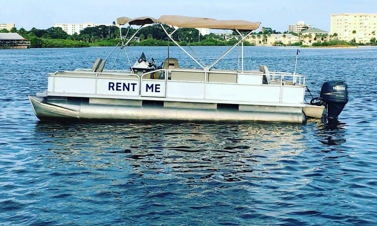 Explore Port Orange with this nice open pontoon rental