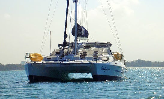 Charter A 54' Dalfawn Cruising Catamaran In Victoria, Seychelles