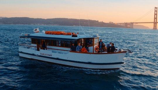 Motor Yacht Rental In San Francisco Near Fisherman's Wharf