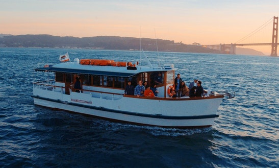 Motor Yacht Rental In San Francisco Near Fisherman's Wharf