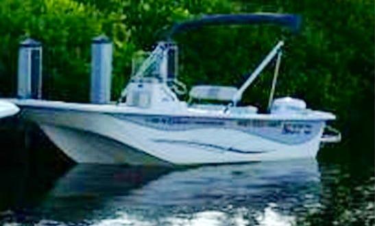 18' Carolina Skiff Rental In Tampa Bay Region