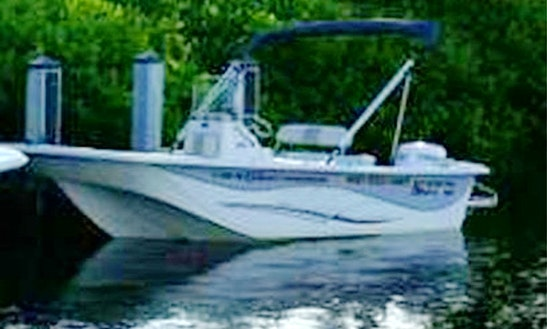 18' Carolina Skiff Rental In Tampa Bay Region