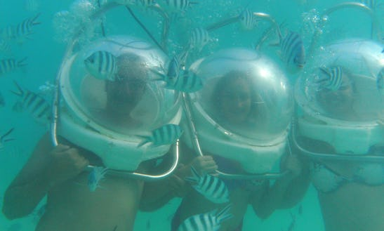 Amazing Undersea Walk In Mauritius - Kids And Non-swimmers Can Join!