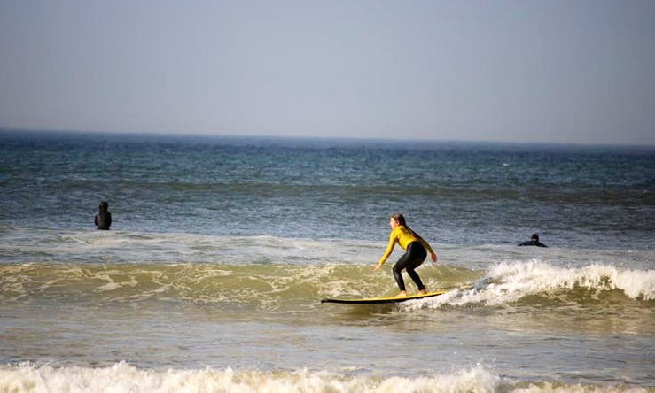 Learn To Surf With Our Experienced, Qualified Coaches!