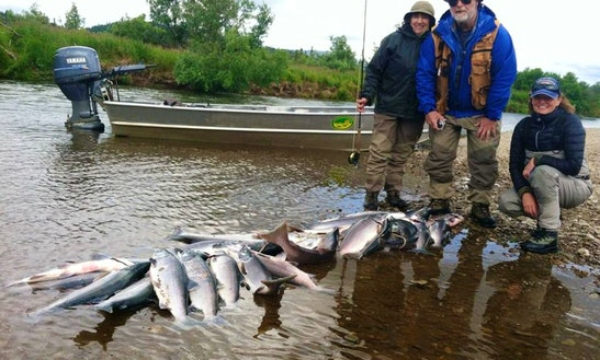 Bass Boat Fishing Trips In Northern Township, Minnesota