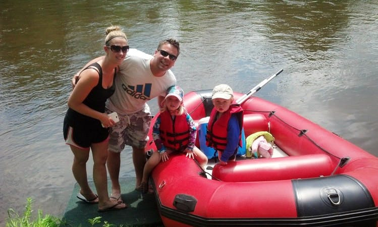 Raft Rental in Evart