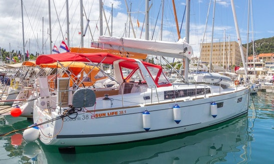 Sailing Holiday In Croatian Sea Aboard 2018 Beneteau Oceanis 38.1 Sailboat
