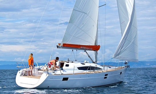 Great Sailing Experience Awaits Aboard The Elan Impression 45