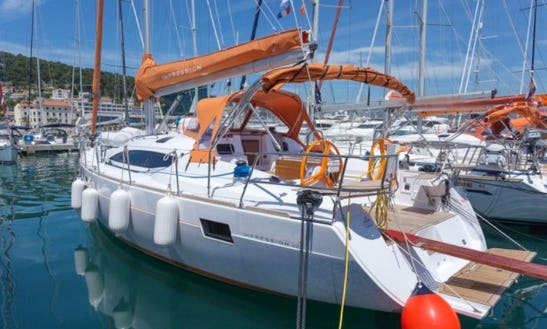 Sail Aboard The Impressive Elan 45