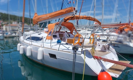 Explore The Famous Adriatic Sea Aboard Elan 45 Impression