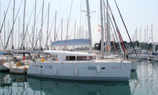 Island Getaway In Croatian Sea With Lagoon 400 Cruising Catamaran Charter