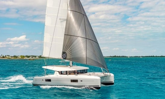 Unwind Aboard A Luxury Lagoon 42 Catamaran