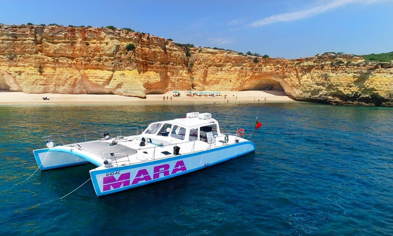 Catamaran Cruise: Albufeira to Benagil