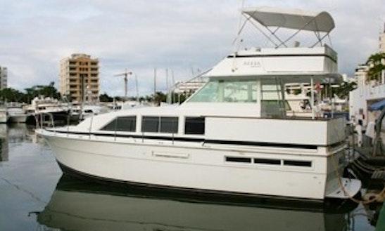 Bertram Motor Yacht For 8 People With English, Spanish And Italian Speaking Crew In Caraballeda