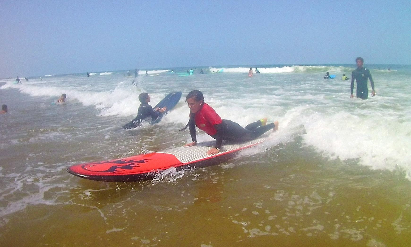Surf Lessons with Friendly and Experienced Coach in Dar Bouazza, Morroco