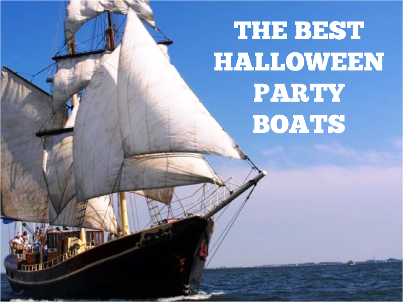 Tall Ship for Halloween Parties