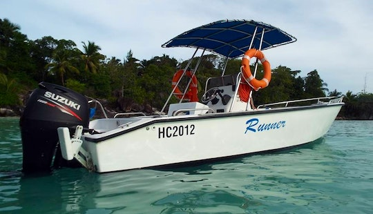 Center Console Fishing Charter For 2 People In Victoria, Seychelles