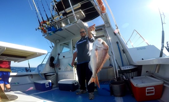Experience The No.1 Deep Sea Fishing Charter In Cronulla, New South Whales