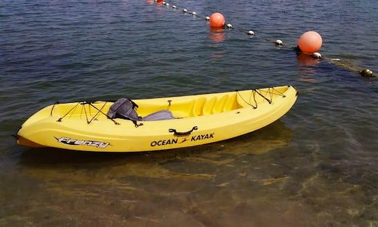 Kayaks Available For Rent In Ras Al Khaimah, Uae