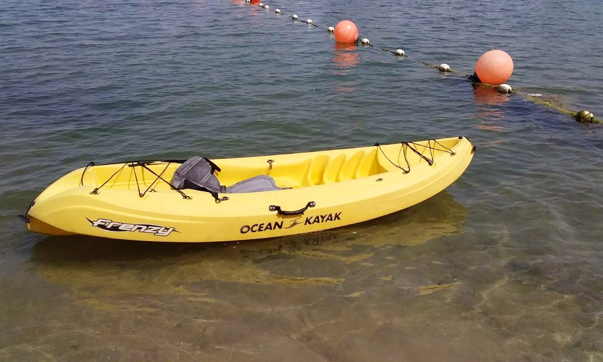 Kayaks Available for Rent in Ras Al Khaimah, UAE