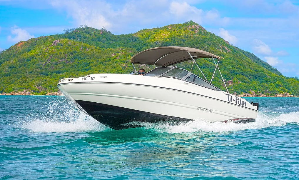 Different Boating Experience In Praslin, Seychelles!