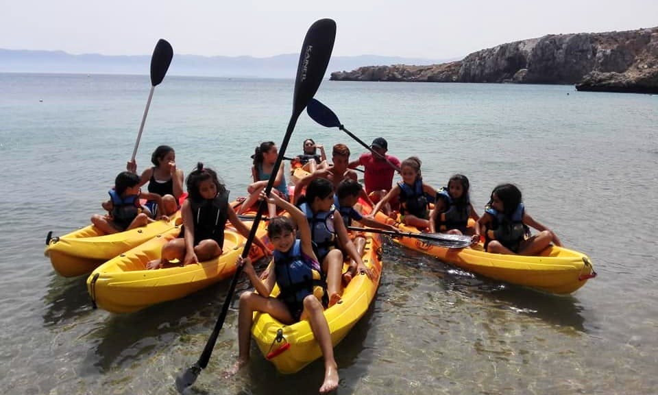 Kayaks Available for Rent in Al Hoceima, Morocco