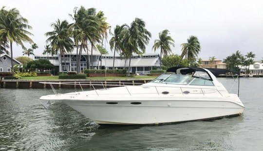 Sea Ray Sundancer Yacht Rental In Fort Lauderdale Florida