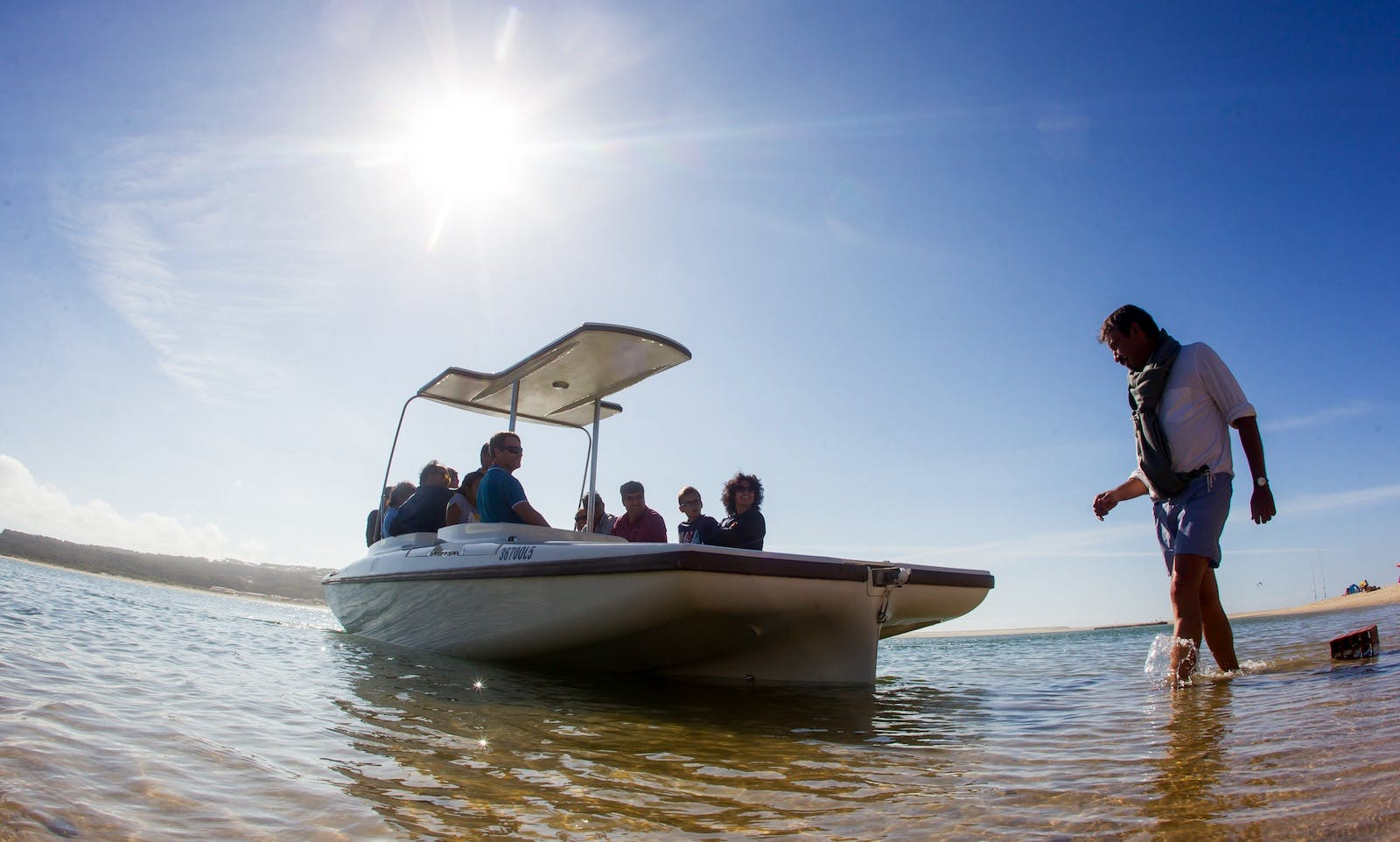 Electric Boat rental in Faro
