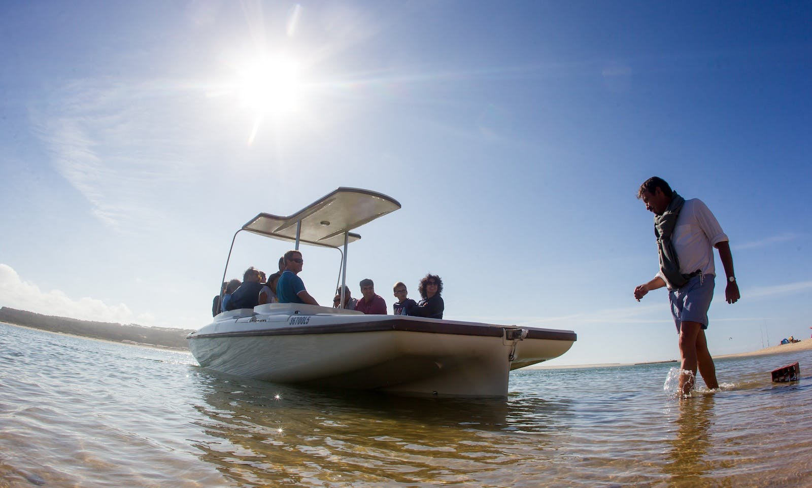 Electric Boat rental in Faro
