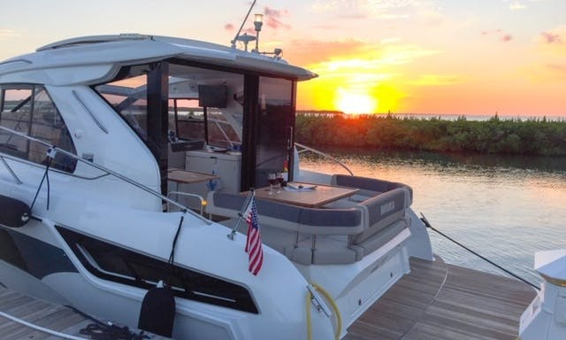 2018 German Yacht rental for 8 people in Sunny Isles Beach, FL