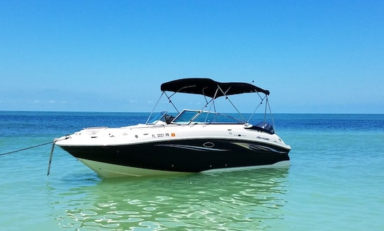 Enjoy This Beautiful And Very Comfortable Hurricane Deck Boat