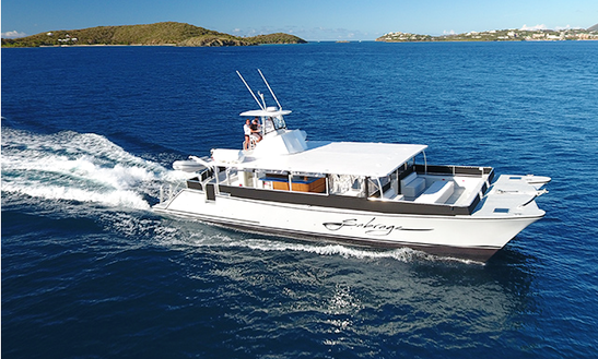 Charter The 63' Sabrage Custom Cooper Catamaran In St. Thomas, U.s. Virgin Islands