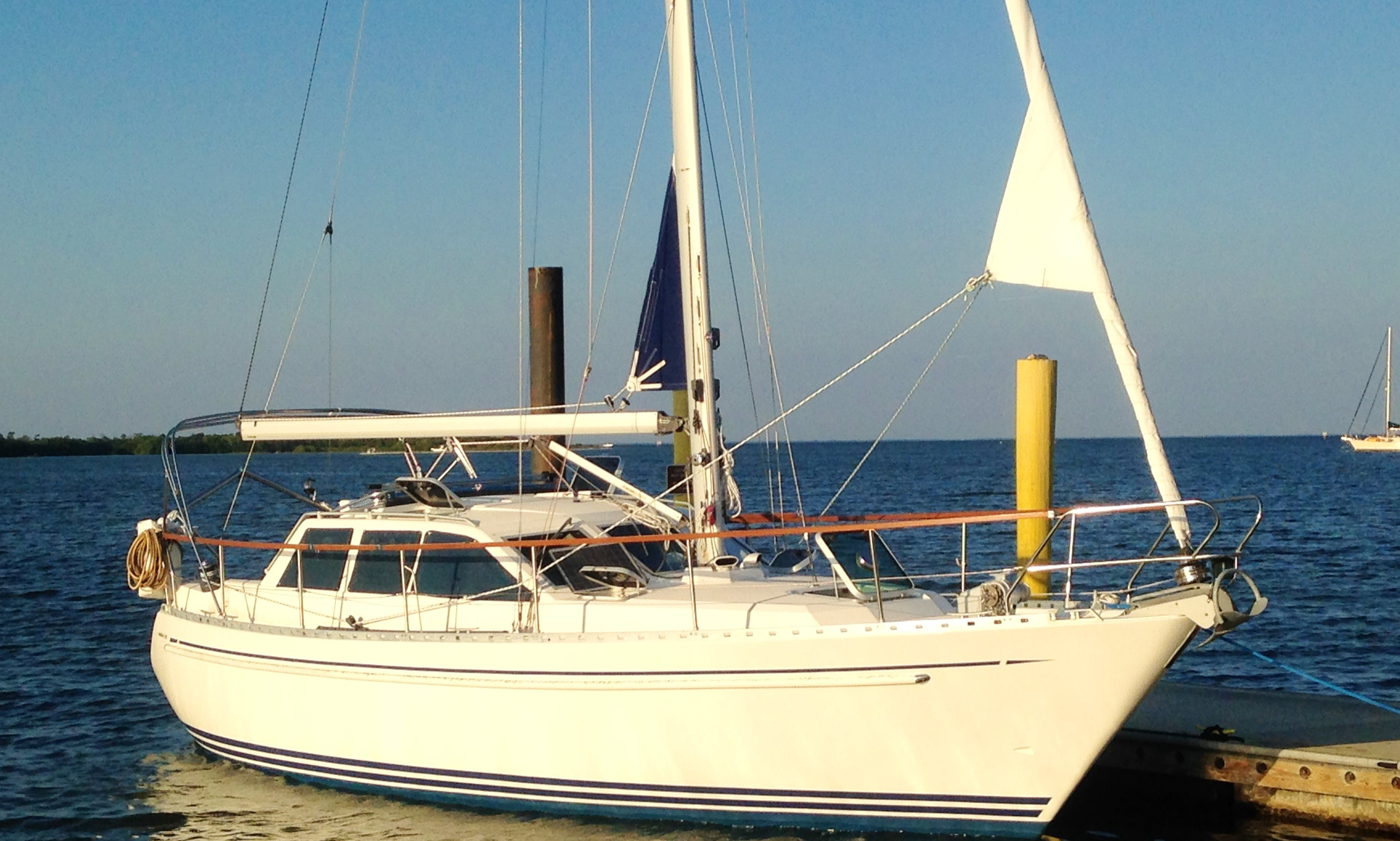 Sailboat Nauticat 321 Sloop for charter with captain in Apollo Beach, FL