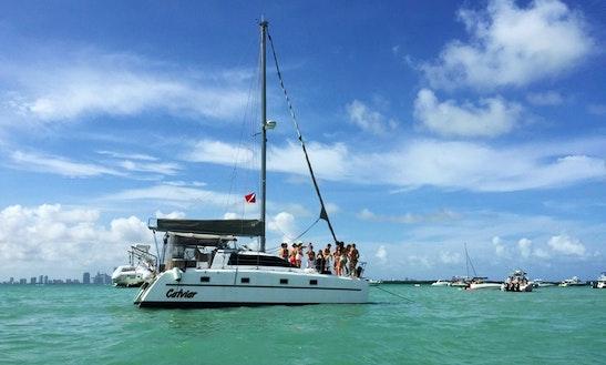 Beach Catamaran Rental In Key Biscayne