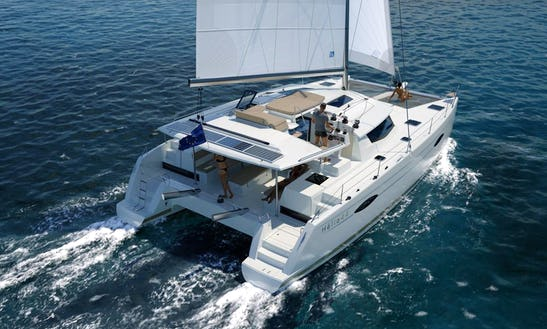Cruising Catamaran Rental In Pasito Blanco