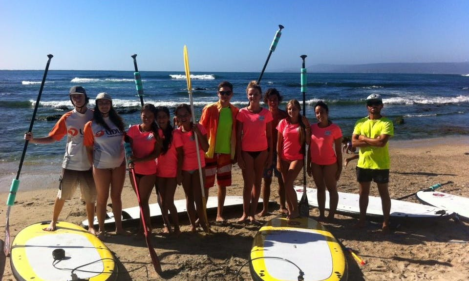 Book SUP Lesson in Algarrobo, Chile!
