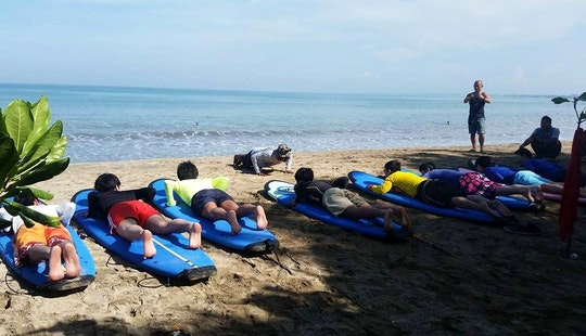 Best Surf Lessons In Kuta, Indonesia!