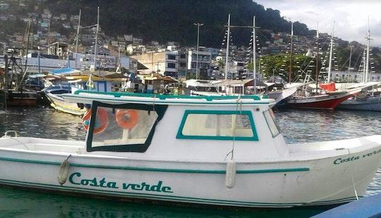 Taxi Boat Tour For 15 Person In Angra Dos Reis, Rio De Janeiro