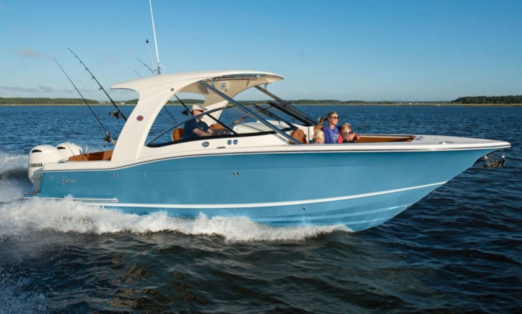 Tour Biscayne Bay in Comfort on the Beautiful  28' Scout Dorado!