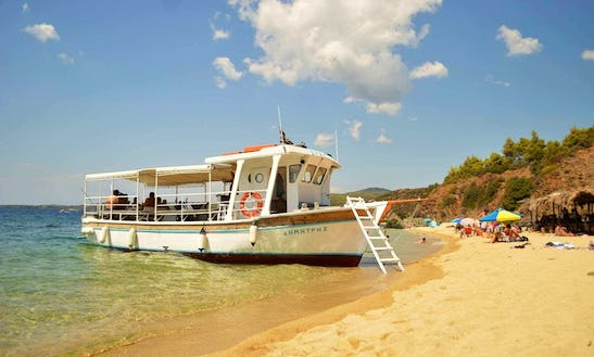 Unforgettable Voyage On Famous Blue Lagoon Of Neos Marmaras, Greece