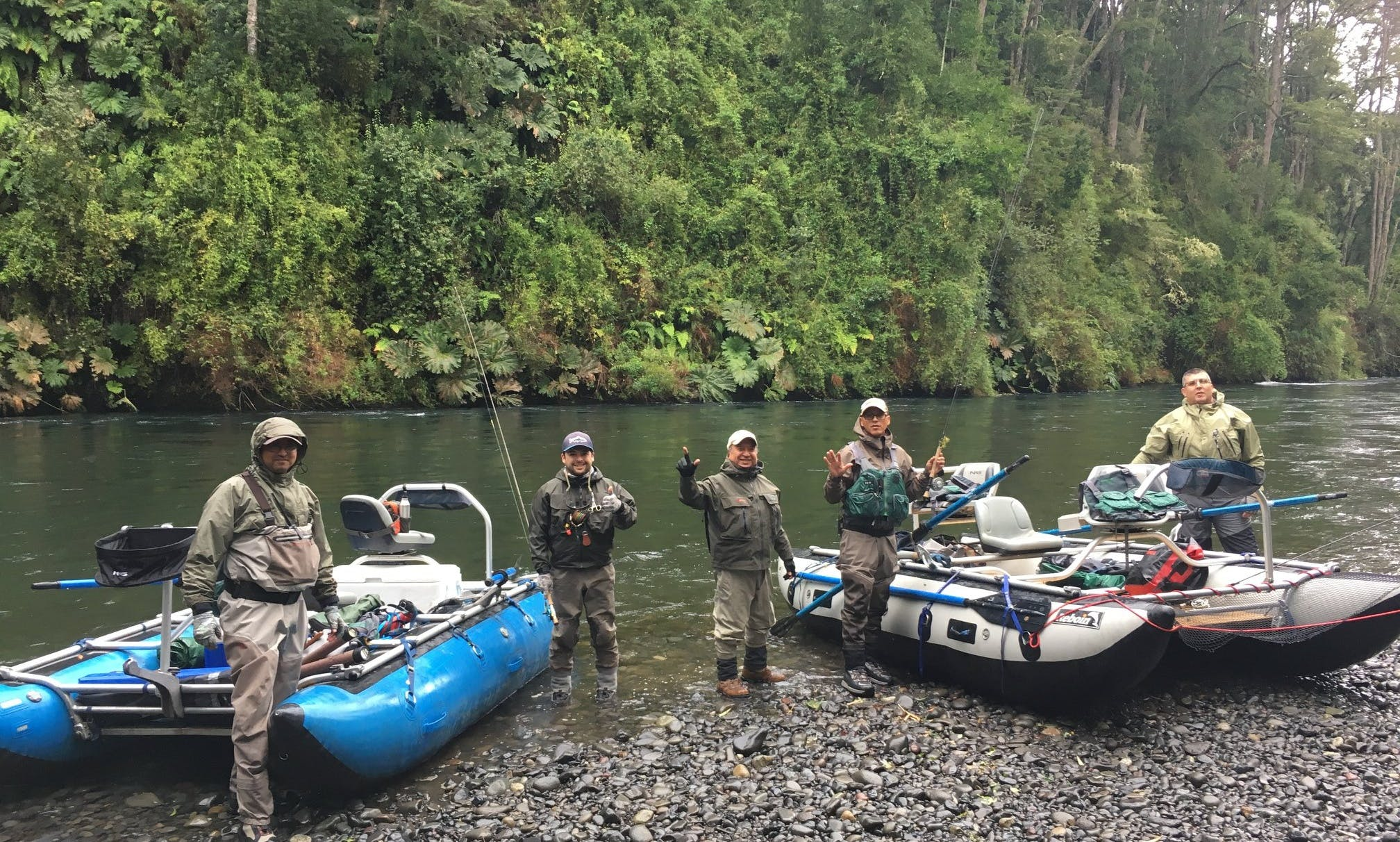 Guided Fly Fishing Trip with Don Pedro in Rio Bueno Rivers, Chile