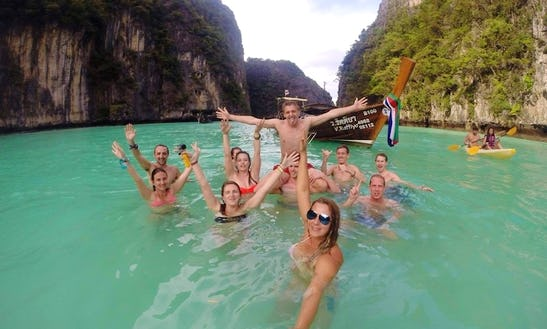 Half Day Plankton Sunset Tour On Long Tail Boat In Phi Phi Island, Thailand!